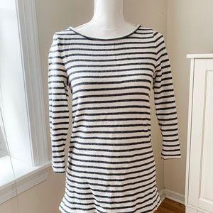 LOFT XS Striped shirt